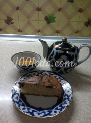 Простой и быстрый кекс к чаю