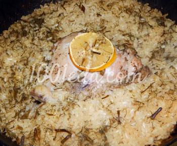 Курица с рисом в духовке И в пир, и в мир