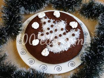 Шоколадный праздничный пирог с пряностями в мультиварке: рецепт с пошаговым фото