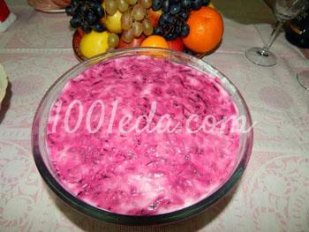 Классический салат Селедка под шубой