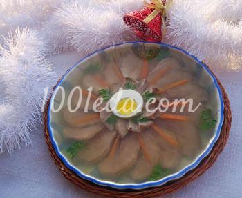 Праздничное заливное из свиного языка: рецепт с пошаговым фото