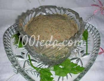 Паштет из говяжьей печени: рецепт с пошаговым фото