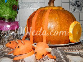 Карета для Золушки: рецепт с пошаговым фото