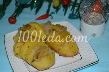Картофель с салом из мультиварки