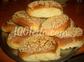 Сырные булочки с кунжутом: рецепт с пошаговым фото