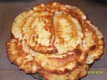 Лепешки с творожной начинкой: рецепт с пошаговым фото