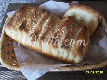 Хлеб-гармошка: рецепт с пошаговым фото