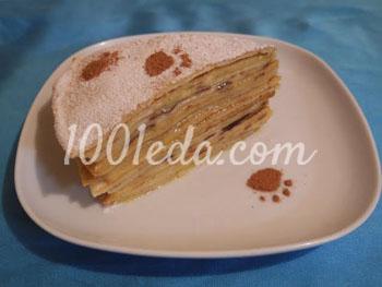 Блинный торт ванильный с заварным кремом: рецепт с пошаговым фото