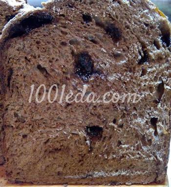 Хлеб шоколадный с шелковицей: рецепт с пошаговым фото