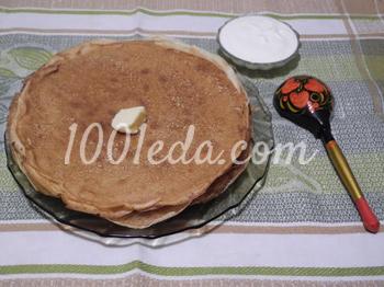 Блинчики на кефире: рецепт с пошаговым фото
